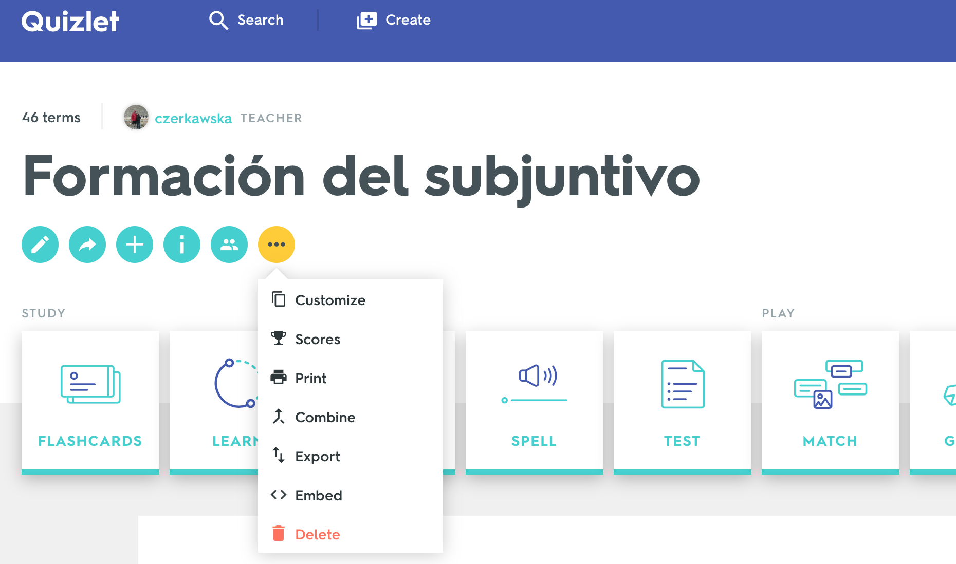 How to create a GimKit from Quizlet - Archbishop Mitty ...
